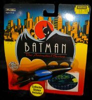 Batman The Animated Series: Die-Cast Metal Vehicle: Batboat - Sealed on Card